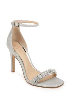 Jewel Badgley Mischka Ranya Ankle Strap Sandal (Women)
