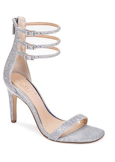 Jewel Badgley Mischka Regina Ankle Strap Sandal (Women)
