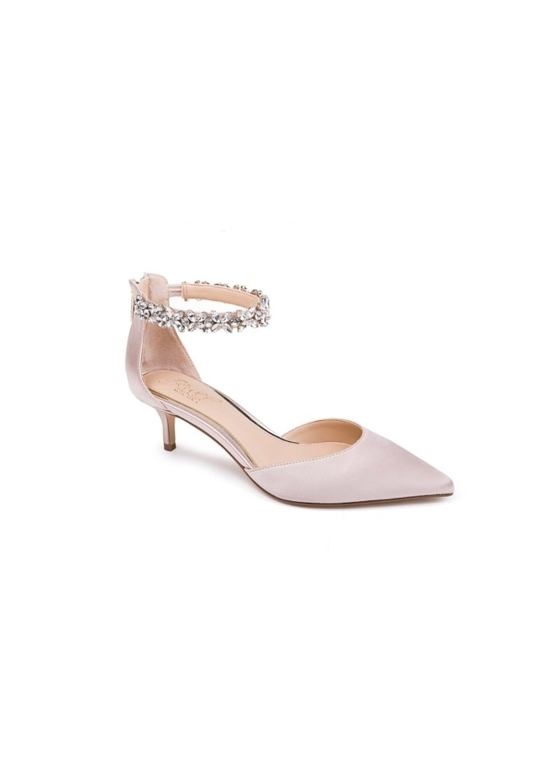 Jewel Badgley Mischka Women's Robles Evening Pumps Women's Shoes