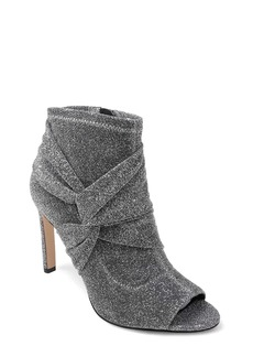 Jewel Badgley Mischka Rockford Open Toe Bootie (Women)