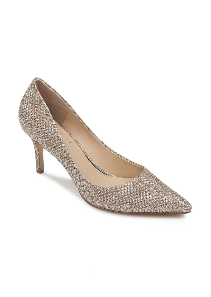 Jewel Badgley Mischka Rudy Pointed Toe Pump (Women)