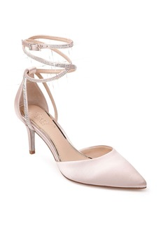Jewel Badgley Mischka Sabrina Crystal Embellished Pump (Women)