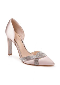 Jewel Badgley Mischka Sedona Crystal Embellished d'Orsay Pump (Women)