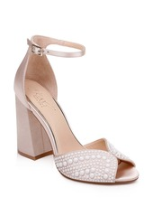 Jewel Badgley Mischka Serenity Ankle Strap Sandal (Women)