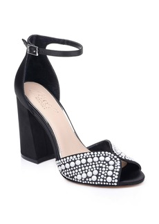 Jewel Badgley Mischka Serenity Ankle Strap Sandal (Women)