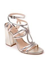 Jewel Badgley Mischka Shari Metallic Strappy Sandal (Women)