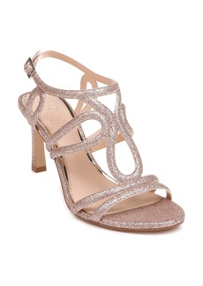 Jewel Badgley Mischka Simba Embellished Strappy Sandal (Women)