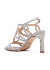 Jewel Badgley Mischka Simba Embellished Strappy Sandal (Women)