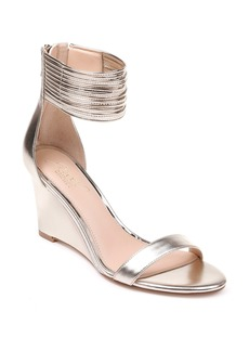 Jewel Badgley Mischka Starry Ankle Strap Wedge (Women)