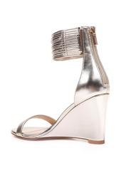 Jewel Badgley Mischka Starry Ankle Strap Wedge (Women)
