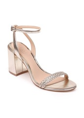 Jewel Badgley Mischka Suri Block Heel Sandal (Women)