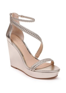 Jewel Badgley Mischka Suzy Wedge Platform Sandal (Women)