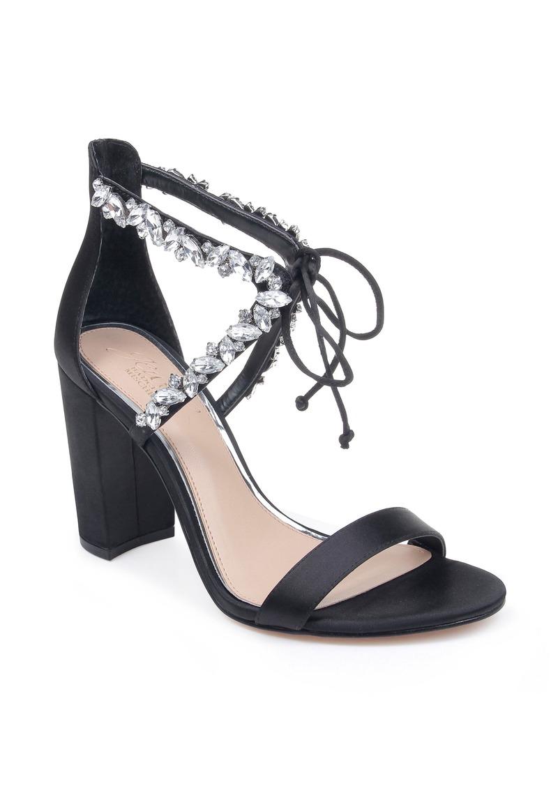 Jewel Badgley Mischka Thamar Embellished Sandal (Women)