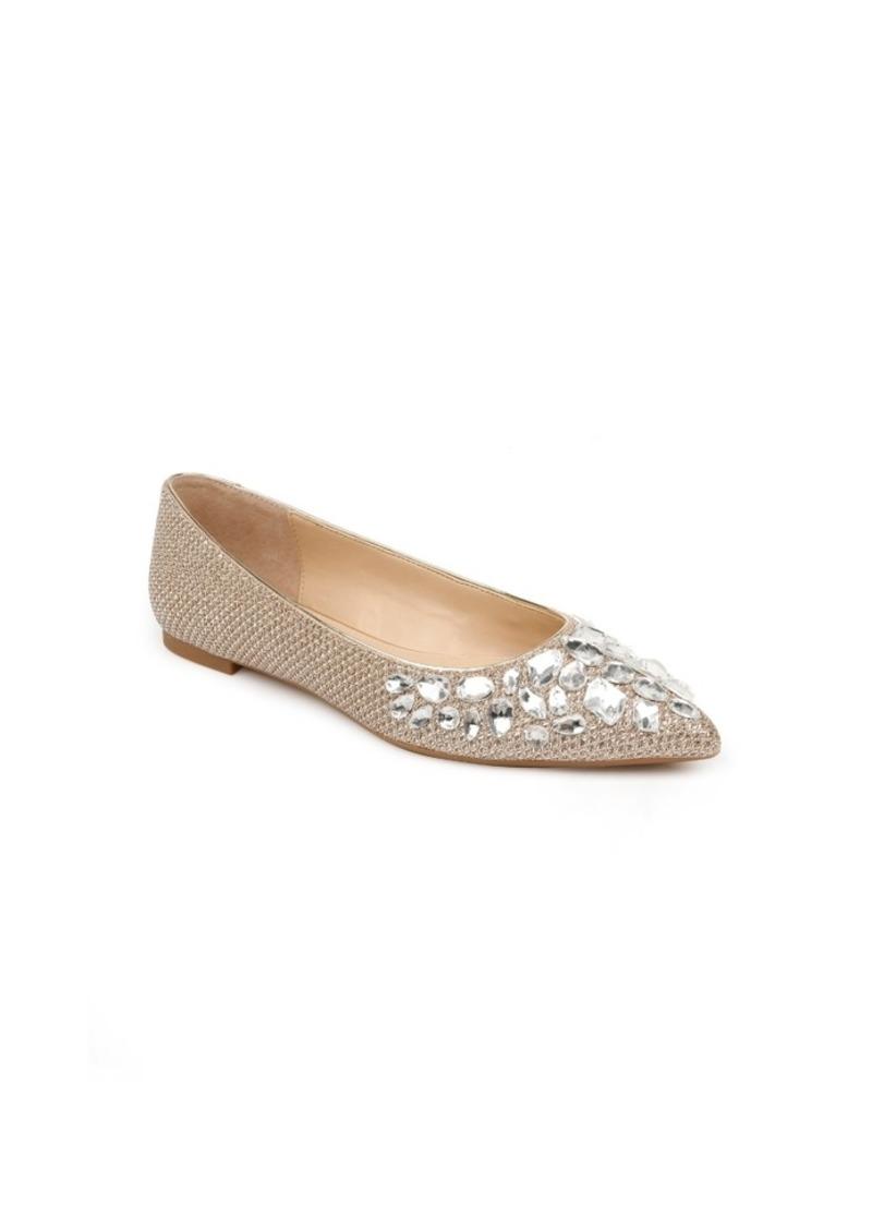 Jewel Badgley Mischka Ulanni Flats Women's Shoes