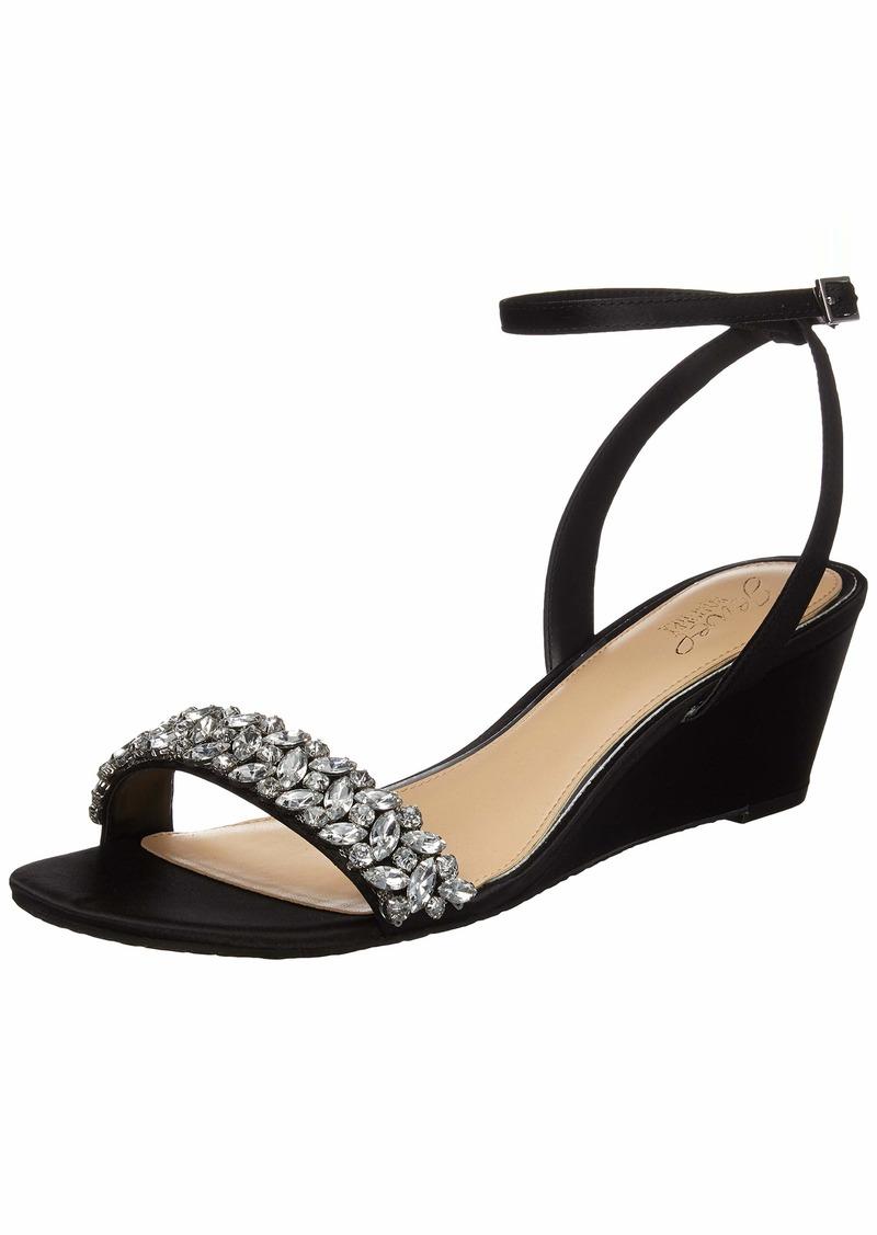 Jewel Badgley Mischka Women's BELLEVUE Sandal   M US