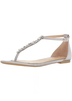 Jewel Badgley Mischka Women's Carol Dress Sandal   M US