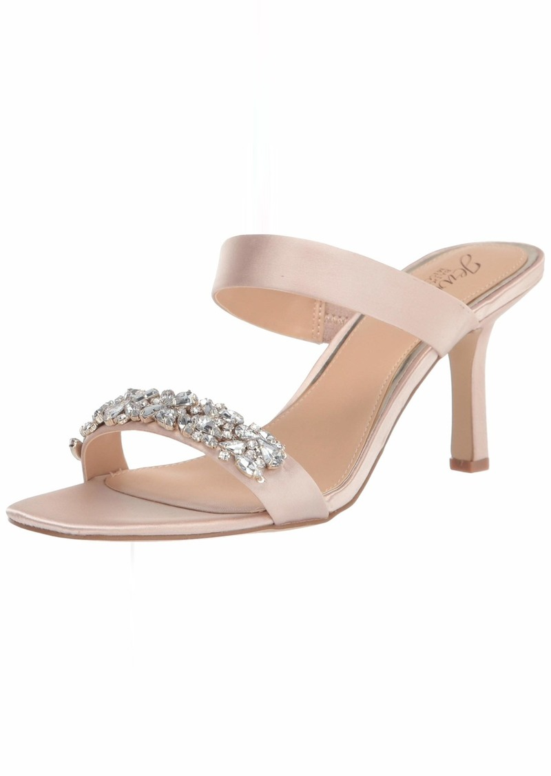 Jewel Badgley Mischka Women's Fabe Heeled Sandal