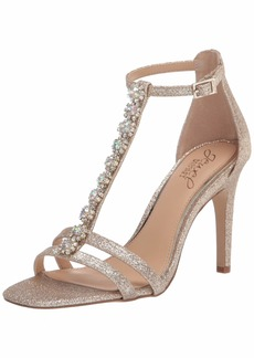 Jewel Badgley Mischka Women's Farida Heeled Sandal