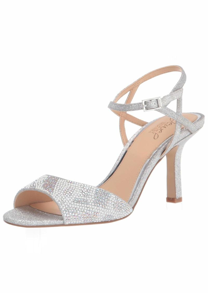 Jewel Badgley Mischka Women's Fawna Heeled Sandal