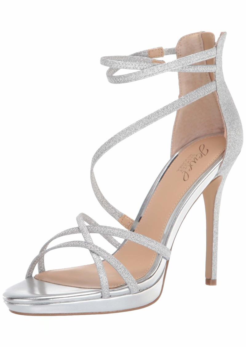 Jewel Badgley Mischka Women's Florencia Heeled Sandal