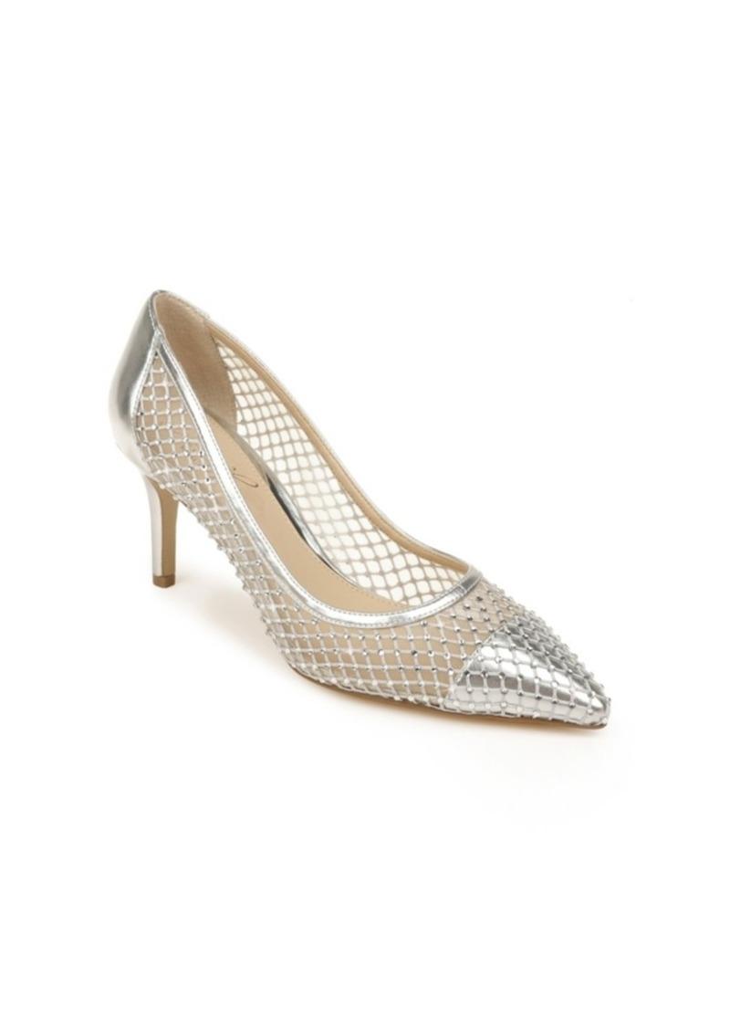 Jewel Badgley Mischka Women's Floria Evening Pumps Women's Shoes