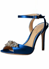 Jewel Badgley Mischka Women's Hayden Espadrille Sandal   M US