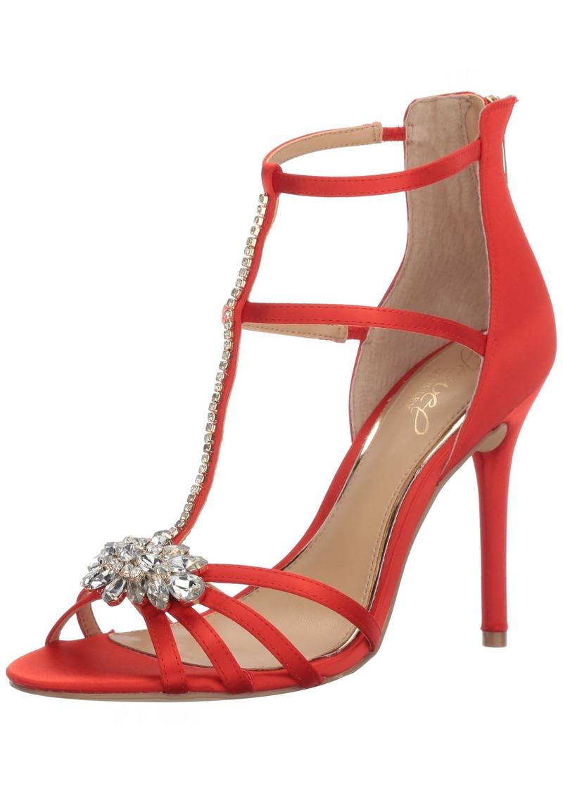 Jewel Badgley Mischka Women's Hazel Dress Sandal   M US