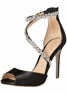 Jewel Badgley Mischka Women's Javier Heeled Sandal   M US