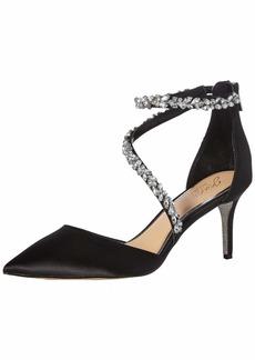 Jewel Badgley Mischka Women's JAYLAH Shoe black  Medium US