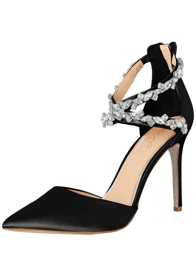 Jewel Badgley Mischka Women's JAZMINE Shoe black M00 M US