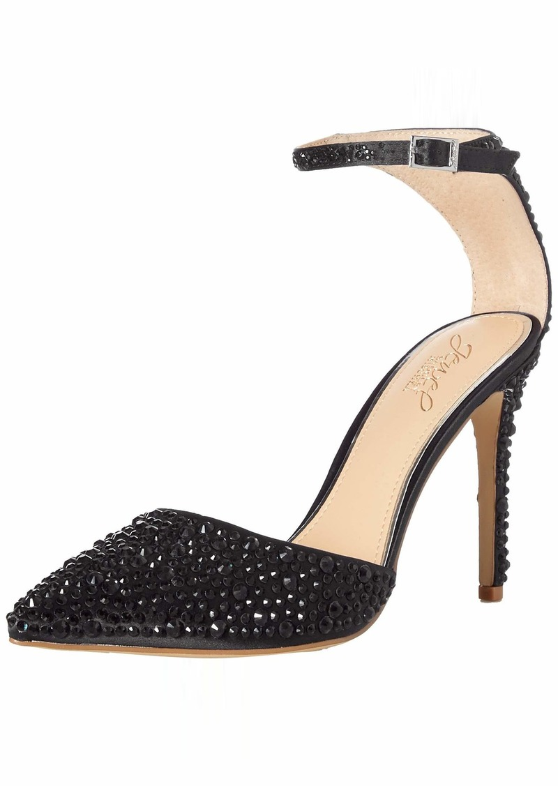 Jewel Badgley Mischka Women's Jimena Pump   M US