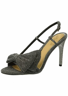 Jewel Badgley Mischka Women's JOHANNA Sandal silver M00 M US