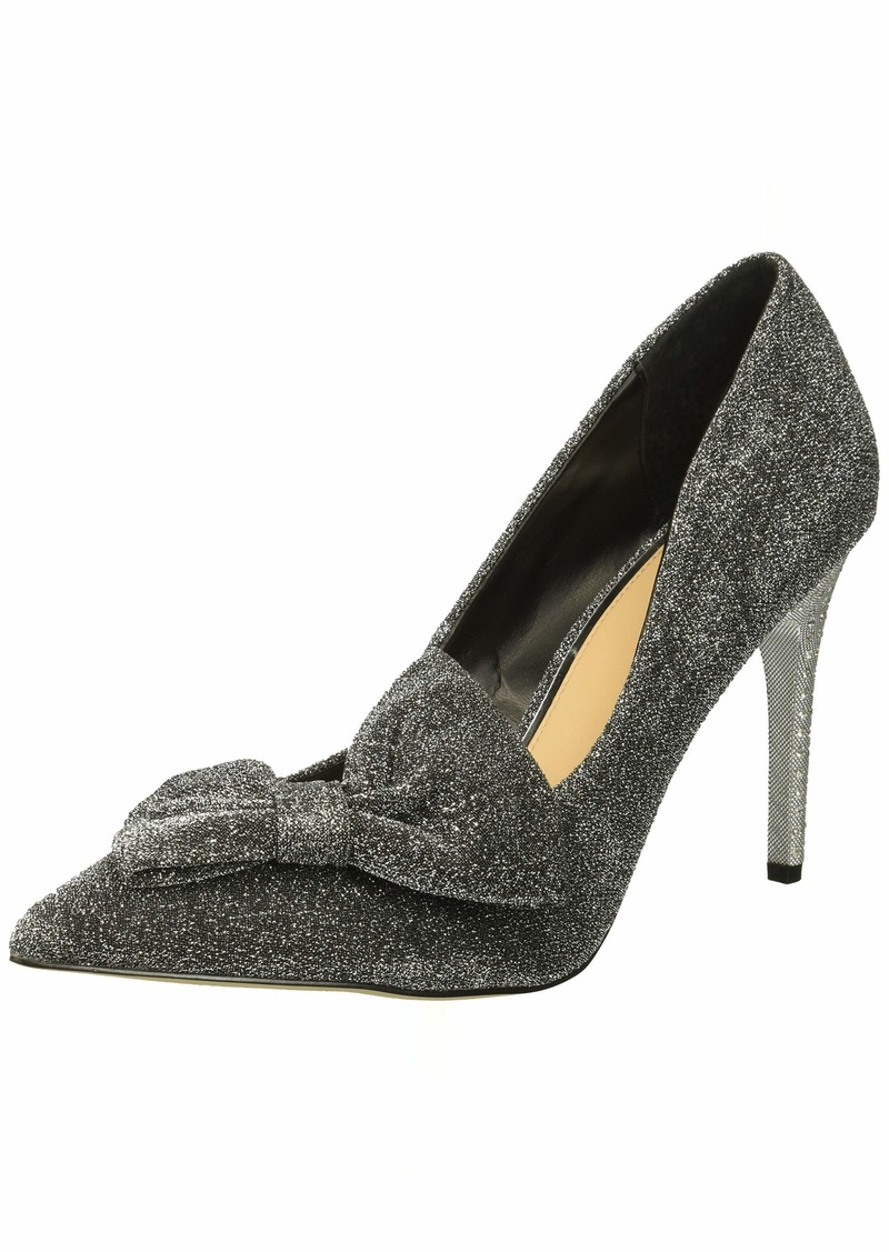 Jewel Badgley Mischka Women's JOLANDA Shoe silver M075 M US