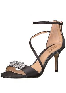 Jewel Badgley Mischka Women's Leighton Sandal   Medium US