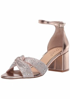 Jewel Badgley Mischka Women's Nicolette Heeled Sandal   Medium US