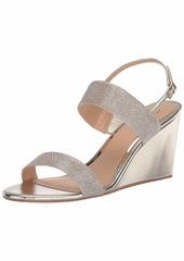 Jewel Badgley Mischka Women's Nisa Wedge Sandal   Medium US