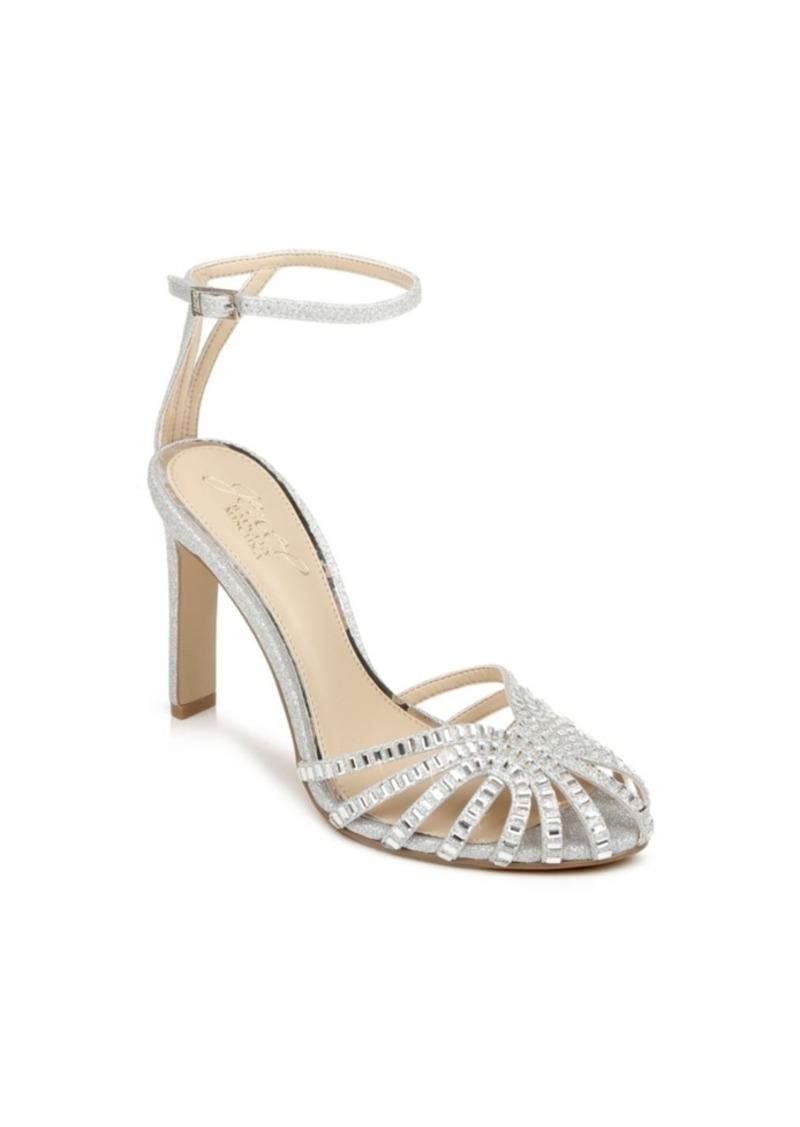 Jewel Badgley Mischka Women's Polly High Heel Evening Sandal Women's Shoes