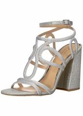 Jewel Badgley Mischka Women's SHARI Sandal   M US