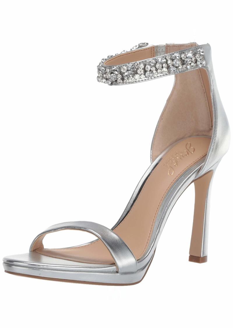 Jewel Badgley Mischka Women's Sierra Heeled Sandal   M US