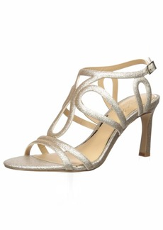 Jewel Badgley Mischka Women's SIMBA Sandal   M US
