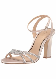 Jewel Badgley Mischka Women's SPARKLE Sandal   M US