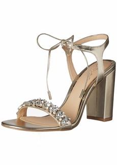 Jewel Badgley Mischka Women's UZURI Sandal   M US