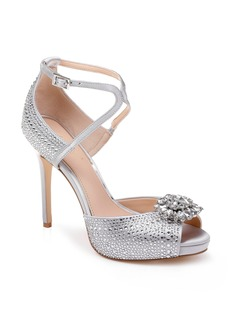 Jewel Badgley Mischka Zaina Platform Sandal (Women)