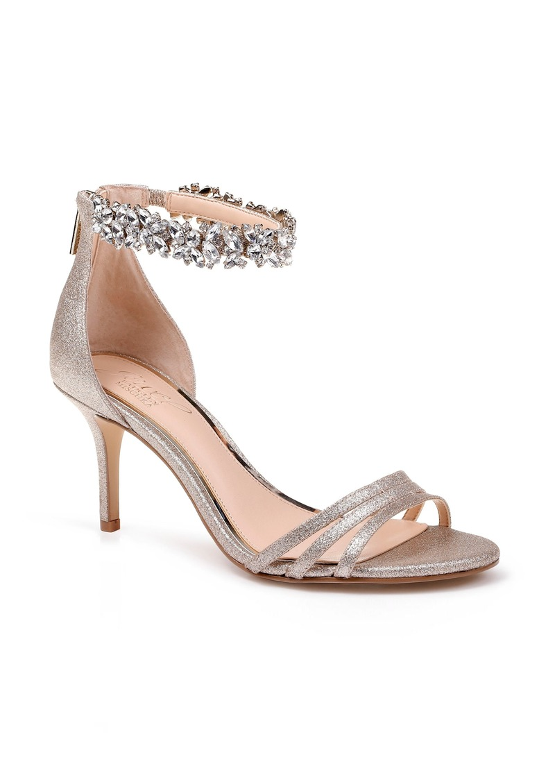 Jewel Badgley Mischka Zamora Ankle Strap Sandal (Women)