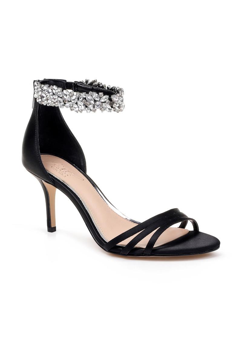 Jewel Badgley Mischka Zamora Ankle Strap Sandal (Women)