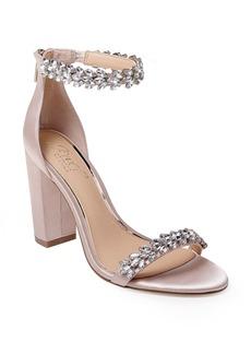Jewel by Badgley Mischka Mayra Embellished Ankle Strap Sandal (Women)