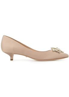 Badgley Mischka kitten heel pumps