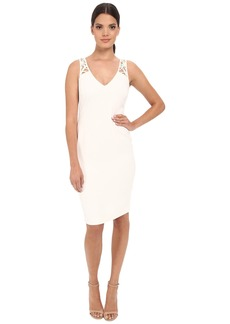 Badgley Mischka Lattice Back Cocktail
