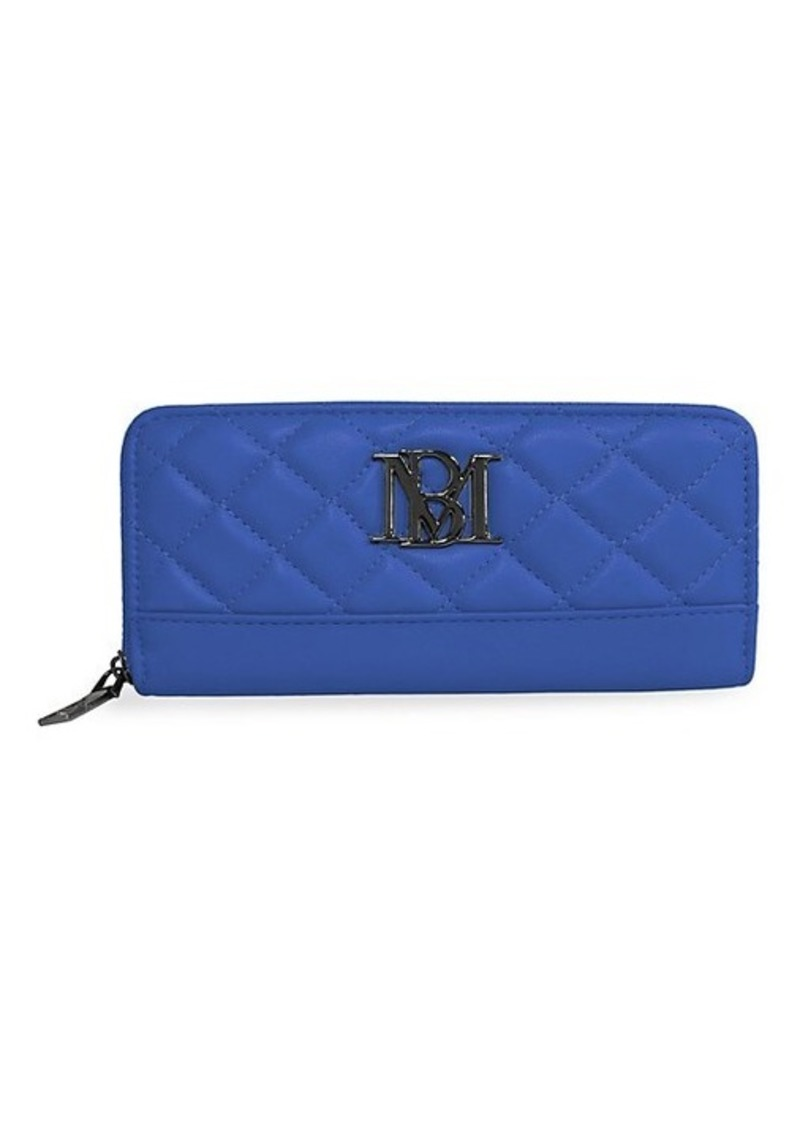 Badgley Mischka Logo Quilted Wallet