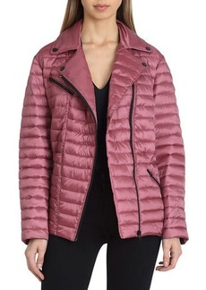 Badgley Mischka Mia Quilted Puffer Jacket